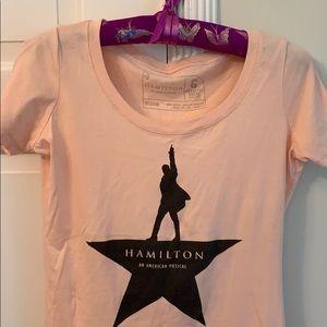NWOT! Hamilton An American Musical t-shirt